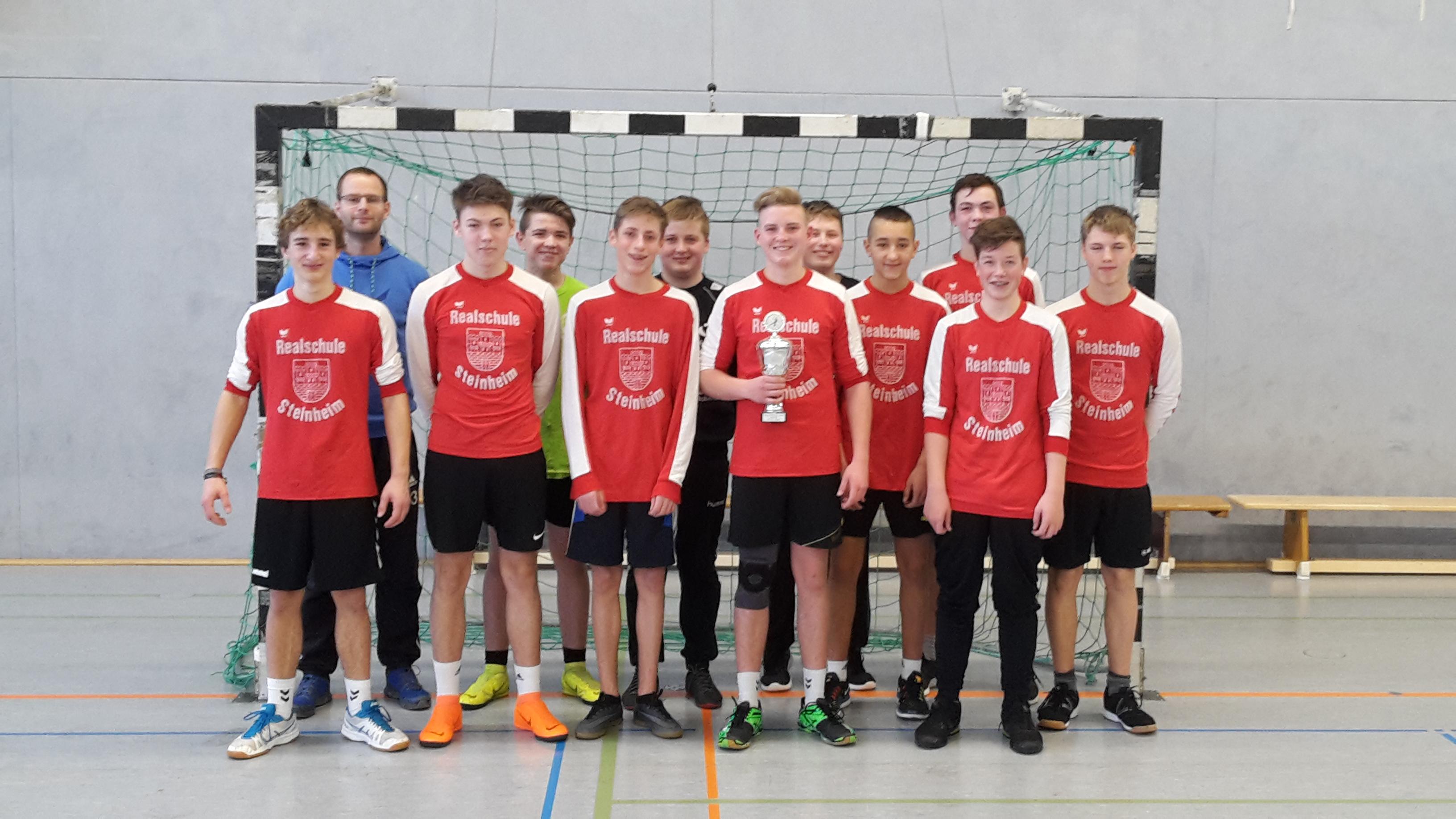 Realschule Steinheim Kreismeister im Handball