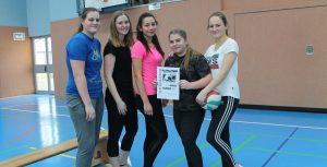 Spannende Spiele beim Volleyballturnier der 9. und 10. Klassen