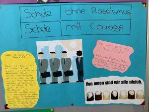 Schule ohne Rassismus – Schule mit Courage. Ein Projekt unserer Schule
