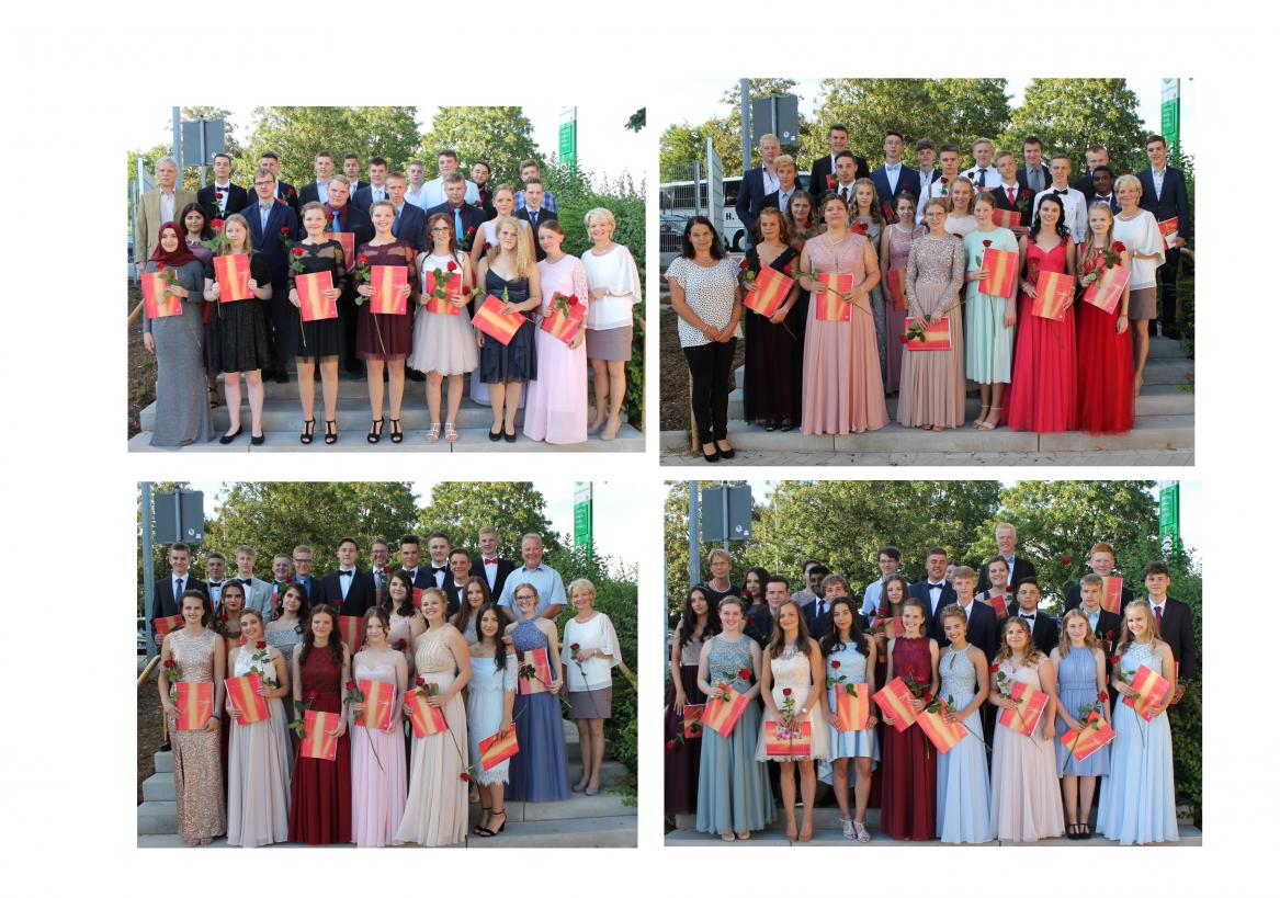 100 Steinheimer Realschüler in die Zukunft verabschiedet