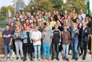 Französische Schüler erleben deutschen Schulalltag