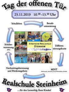 """""""Tag der offenen Tür"""" der Realschule Steinheim"""